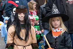 Children's Parade at Keene Pumpkin Festival