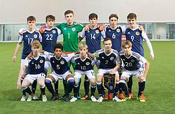 half time : Scotland 2 v 0 Wales, Under 16 Victory Shield, Oriam 1/11/2016.