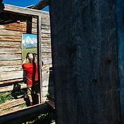 Matthew Bart explores the Shane Cabins Homestead in Grand Teton National Park, Wyoming.