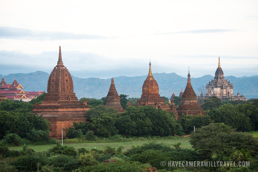 BAGAN, Myanmar (Burma) - Bagan was the ancient capital of the Kingdom of Pagan. During its height, from the 9th to the 13th century, over 10,000 Buddhist temples and pagodas were built. Several thousand of them survive today.