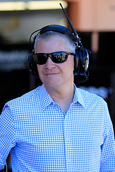 September 14, 2018 - Las Vegas, NV, U.S. - LAS VEGAS, NV - SEPTEMBER 14: For driver and NBC Sports NASCAR commentator Jeff Burton during practice for the South Point 400 Monster Energy NASCAR Cup Series Playoff Race on September 14, 2018 at Las Vegas Motor Speedway in Las Vegas, NV. (Photo by David Griffin/Icon Sportswire) (Credit Image: © David Griffin/Icon SMI via ZUMA Press)