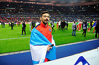Victoire du PSG / Ezequiel LAVEZZI  - 11.04.2015 -  Bastia / PSG - Finale de la Coupe de la Ligue 2015<br />