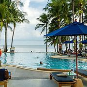 THA/Koh Samui/20160804 - Vakantie Thailand 2016 Koh Samui, zwembad Manathai Resort