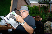 Content Magazine hosts its Pick Up Party at The Continental Lounge And Patio in downtown San Jose, California, on August 20, 2015. (Stan Olszewski/SOSKIphoto)