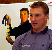 2004_ Matt Pinsent Retirement Press Conference - Leander Club -  Henley on Thames...Matt Pinsent, comfirmed this morning,[10am Tues. 30.1.2004] at a press conference held at Leander Club. That the Olympic M4- final was his last race in a GB vest...30.11.2004 Photo  Peter Spurrier. .email images@intersport-images.com...2004_ Matt Pinsent Retirement Press Conference - Leander Club -  Henley on Thames...Matt Pinsent, comfirmed this morning,[10am Tues. 30.1.2004] at the a press conference held at Leander. that the Olympic M4- final was his last race in a GB vest...30.11.2004 Photo  Peter Spurrier. .email images@intersport-images.com...2004_ Matt Pinsent Retirement Press Conference - Leander Club -  Henley on Thames...Matt Pinsent, comfirmed this morning,[10am Tues. 30.1.2004] at a press conference held at Leander Club. That the Olympic M4- final was his last race in a GB vest...30.11.2004 Photo  Peter Spurrier. .email images@intersport-images.com...[Mandatory Credit Peter Spurrier/ Intersport Images]