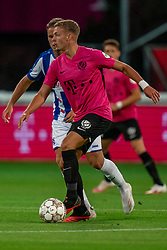"Davy van den Berg #38 of Utrecht in action. FC Utrecht convincingly won the practice match against sc Heerenveen. The ""Domstedelingen"" were too strong for SC Heerenveen in Stadium Galgenwaard with 4-1<br /> on August 20, 2020 in Utrecht, Netherlands"