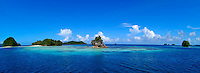 Palau, Micronesia scenic images of Rock Islands and Island aerials by Tim Rock