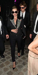 Kate Moss sen out and about in Paris<br />