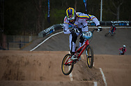 #785 (CALIXTO LOPEZ Miguel Alejandro) COL at the 2014 UCI BMX Supercross World Cup in Santiago Del Estero, Argentina.