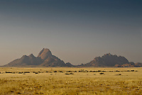 Inselberg of Spitzkoppe at dusk