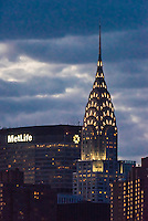 Met Life and Chrysler Buildings, Midtown Manhattan, New York City, New York USA.