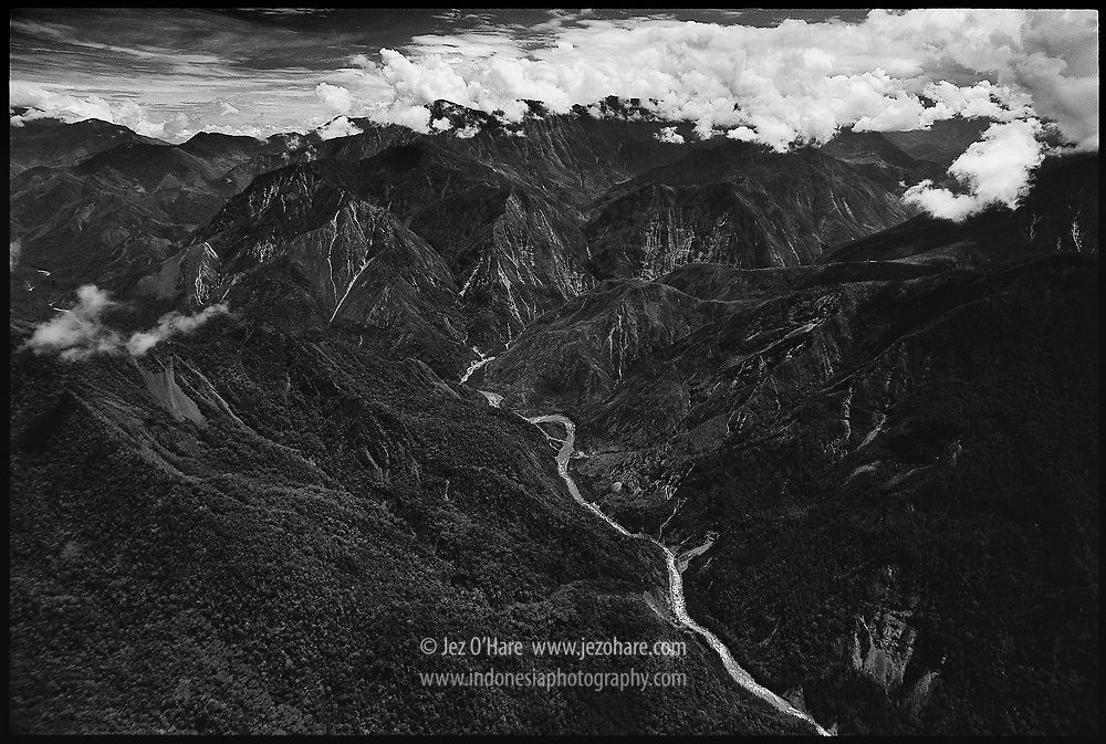 Baliem River, South Gap Area, Wamena, Jayawijaya-Yahukimo, Papua, Indonesia.