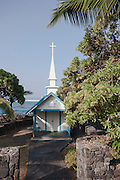 Little St. Peter's Catholic Church on the west side of the Big Island of Hawaii.