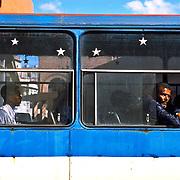 City Bus in Havana, Cuba