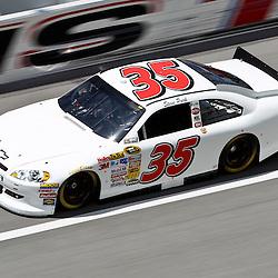 April 16, 2011; Talladega, AL, USA; NASCAR Sprint Cup Series driver Steve Park (35) during qualifying for the Aarons 499 at Talladega Superspeedway.   Mandatory Credit: Derick E. Hingle
