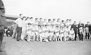 Derry team before the All Ireland Minor  Gaelic Football Final Kerry v. Derry in Croke Park on the 26th September 1965.