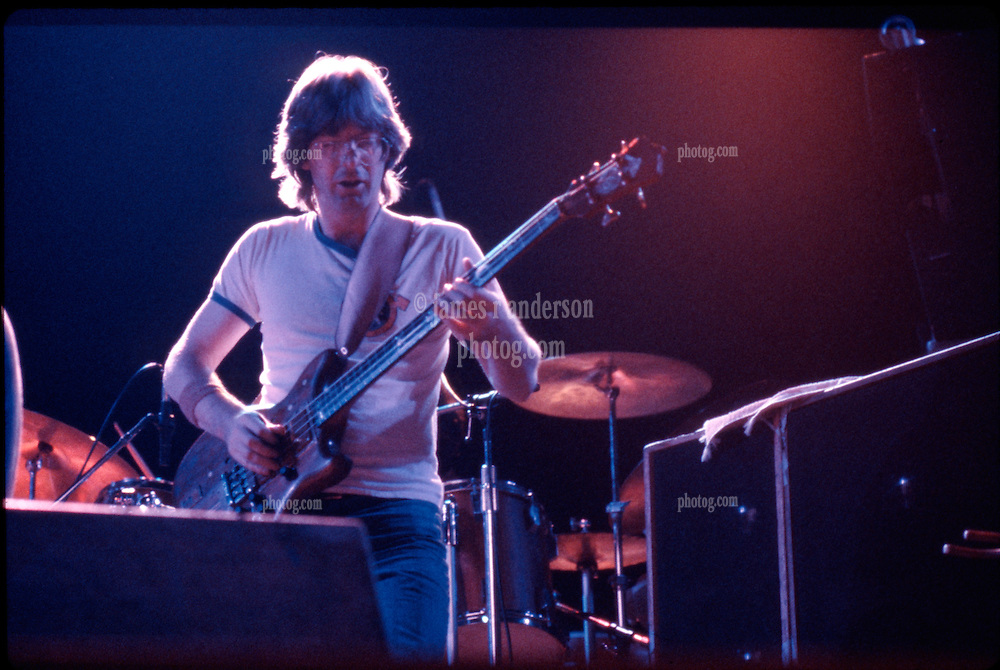 Phil Lesh in the PhilZone with The Grateful Dead in Concert. The Huntington Civic Center, Huntington West Virginia on Sunday, 16th of April 1978. Image No. 78C16-09