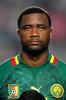 Football Fifa Brazil 2014 World Cup Matchs-Qualifier / Africa - Play-Off / <br /> Tunisia vs Cameroon 0-0  ( Olympic Stadium of Rades , Tunis-Rades , Tunisia ) <br /> Aurelien CHEDJOU of Cameroon ,  during the match between Tunisia and Cameroon
