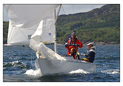 The third days racing at the Bell Lawrie Yachting Series in Tarbert Loch Fyne, Perfect conditions finally arrived for competitors on the three race courses...Winning Sportsboat GBR612 Bertie a Sonar..
