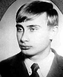Before rising to power as one of the most infamous leaders in the world, Putin was a playful, hipster-dressing man in love. 1970 - St. Petersburg, Russia - VLADIMIR PUTIN. (Credit Image: © Russian Archives via ZUMA Wire)