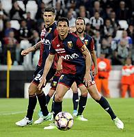 Nicolas Burdisso Genoa <br /> Torino 23-04-2017, Juventus Stadium, Football Calcio 2016/2017 Serie A, Juventus - Genoa, Foto Filippo Alfero/Insidefoto