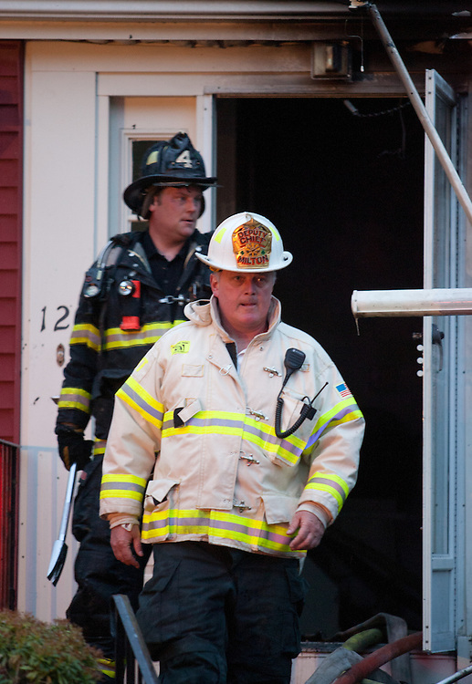 Milton, MA 05/03/2011.3rd alarm fire at 12 Azalea Dr..Alex Jones / www.alexjonesphoto.com