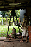 Copra processing plant, Taveuni, Fiji