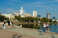 Russie, Ekaterinburg ou Yekaterinburg, centre ville et bassin municipal // Russia, Ekaterinburg or Yekaterinburg, city center