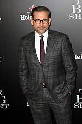 Nov. 23, 2015 - New York City, NY, USA - Actor Steve Carrell attends the 'The Big Short' New York premiere at the Ziegfeld Theater on November 23, 2015 in New York City  (Credit Image: © Nancy Rivera/Ace Pictures via ZUMA Press)
