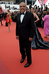 Alberto Barbera attending the Oh Mercy! premiere, during the 72nd Cannes Film Festival