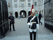 Guard in Whitehall, London, 15 September 2016
