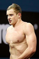 Adam Peaty of Great Britain leaves the pool having just won the Mens 50m Breaststroke Final - Photo mandatory by-line: Rogan Thomson/JMP - 07966 386802 - 23/08/2014 - SPORT - SWIMMING - Berlin, Germany - Velodrom im Europa-Sportpark - 32nd LEN European Swimming Championships 2014 - Day 11.