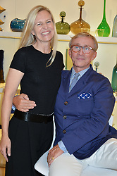 ALANNAH WESTON and JASPER CONRAN at the launch of the Conran Shop at Selfridge's, Oxford Street, London on 22nd September 2015.