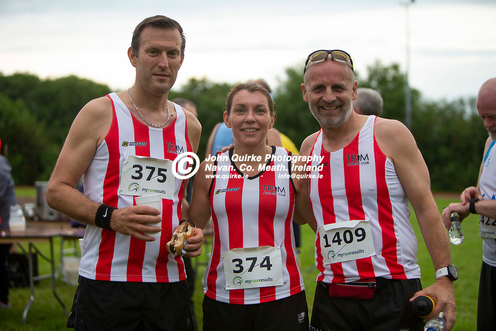 07/06/2019, 34th Patrick Bell & Nicky Phillips memorial run at Bohermeen AC<br /> Trim AC athletes - Olivier Rodriguez, Ciara Delaney Stewart & Michael Counsel pictured at the post event BBQ<br /> Photo: David Mullen / www.quirke.ie ©John Quirke Photography, Unit 17, Blackcastle Shopping Cte. Navan. Co. Meath. 046-9079044 / 087-2579454.<br /> ISO: 800; Shutter: 1/1000; Aperture: 2.8; <br /> File Size: 2.4MB