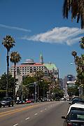 Ocean Boulevard In Downtown Long Beach