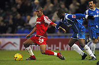 Photo: Paul Thomas.<br /> Oldham Athletic v Swindon Town. Coca Cola League 1.<br /> 10/12/2005.