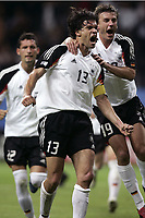 FOOTBALL - CONFEDERATIONS CUP 2005 - GROUP A - GERMANY v AUSTRALIA - 15/06/2005 - JOY MICHAEL BALLACK (/ BERND SCHNEIDER GER) AFTER THE BALLACK'S GOAL  - <br /> PHOTO JEAN MARIE HERVIO / Digitalsport<br /> Norway only