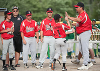 Cal Ripken District 6 U12 baseball Belmont versus Newfound Tuesday, June 26, 2012.