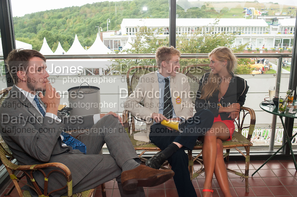 EDWARD ALUN-JONES; HERMIONE CORNFIELD, Ladies Day, Glorious Goodwood. Goodwood. August 2, 2012