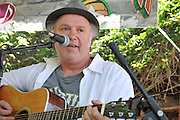 Michael McGarrah in concert at the 2012 Tucson Folk Festival.