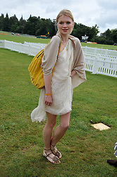 KATYA ELIZAROVA at the 2011 Veuve Clicquot Gold Cup Final at Cowdray Park, Midhurst, West Sussex on 17th July 2011.