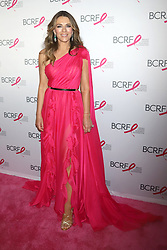 Elizabeth Hurley attends the Hot Pink Party at the Park Avenue Armory in New York