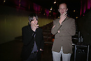 Jim Lambie and Johnnie Shand Kidd. Turner Prize 2005. Tate Britain.   5 December  2005. ONE TIME USE ONLY - DO NOT ARCHIVE  © Copyright Photograph by Dafydd Jones 66 Stockwell Park Rd. London SW9 0DA Tel 020 7733 0108 www.dafjones.com