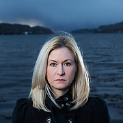 Julie McKenzie Argyll and Bute Council, SNP Councillor for Oban North and Lorn on the beach at Oban.<br /> <br />  Picture Robert Perry  24th November 2017<br /> <br /> Must credit photo to Robert Perry<br /> FEE PAYABLE FOR REPRO USE<br /> FEE PAYABLE FOR ALL INTERNET USE<br /> www.robertperry.co.uk<br /> NB -This image is not to be distributed without the prior consent of the copyright holder.<br /> in using this image you agree to abide by terms and conditions as stated in this caption.<br /> All monies payable to Robert Perry<br /> <br /> (PLEASE DO NOT REMOVE THIS CAPTION)<br /> This image is intended for Editorial use (e.g. news). Any commercial or promotional use requires additional clearance. <br /> Copyright 2014 All rights protected.<br /> first use only<br /> contact details<br /> Robert Perry     <br /> 07702 631 477<br /> robertperryphotos@gmail.com<br /> no internet usage without prior consent.         <br /> Robert Perry reserves the right to pursue unauthorised use of this image . If you violate my intellectual property you may be liable for  damages, loss of income, and profits you derive from the use of this image.
