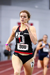 David Hemery Valentine Invitational<br /> Indoor Track & Field at Boston University , womens 500 meters, heat 4,