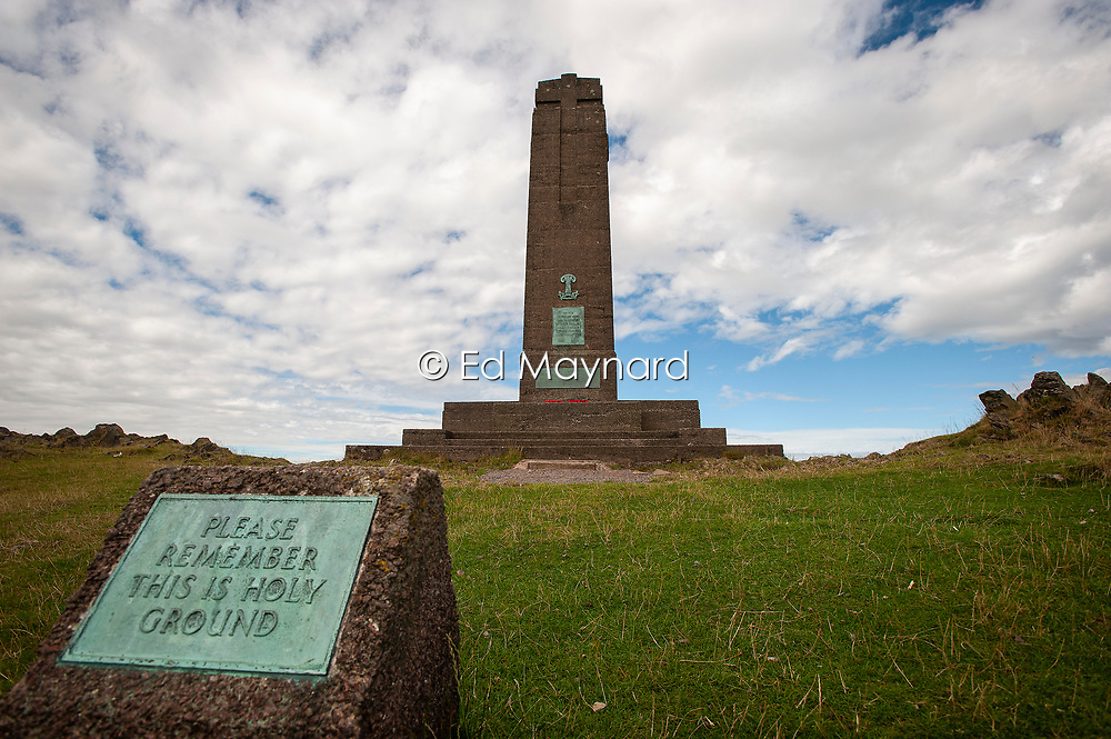 The War Memorial, Bradgate Country Park, Leicestershire, England, UK.