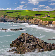 Church Cove along the coast of Cornwall