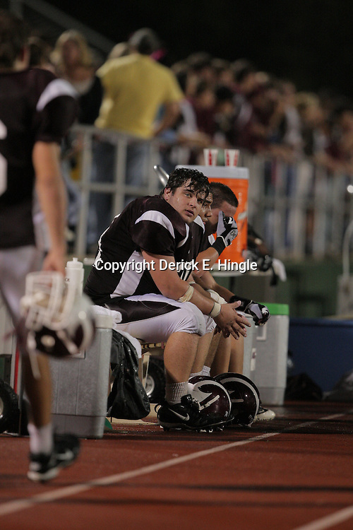 14 November 2008: Brandon Black during the St. Thomas Falcons 47-28 playoff victory over the Welch Greyhounds at Strawberry Stadium in Hammond, LA.