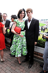 SOPHIE ELLIS-BEXTOR and RICHARD JONES at the 3rd day of the 2008 Glorious Goodwood racing festival at Goodwood Racecourse, West Sussex on 31st July 2008.<br /> <br /> NON EXCLUSIVE - WORLD RIGHTS