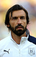 Fifa Brazil 2013 Confederation Cup / Group A Match /<br /> Mexico vs Italy 1-2   ( Jornalista Mario Filho - Maracana Stadium - Rio de Janeiro , Brazil )<br /> Andrea Pirlo of Italy , During the match between Mexico and Italy